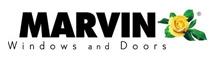 Marvin windows and doors logo.