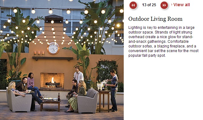 Gallery of Outdoor Rooms from Southern Living