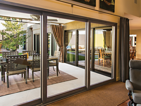 unit patio south bay clad milgard door window essenceslidingdoor doors view portfolio sliding series inside essence