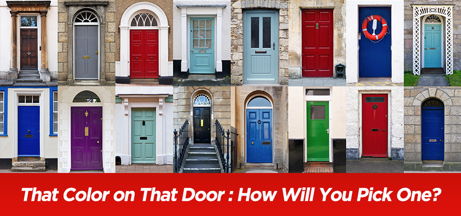 That Color on That Door: How Will You Pick One?