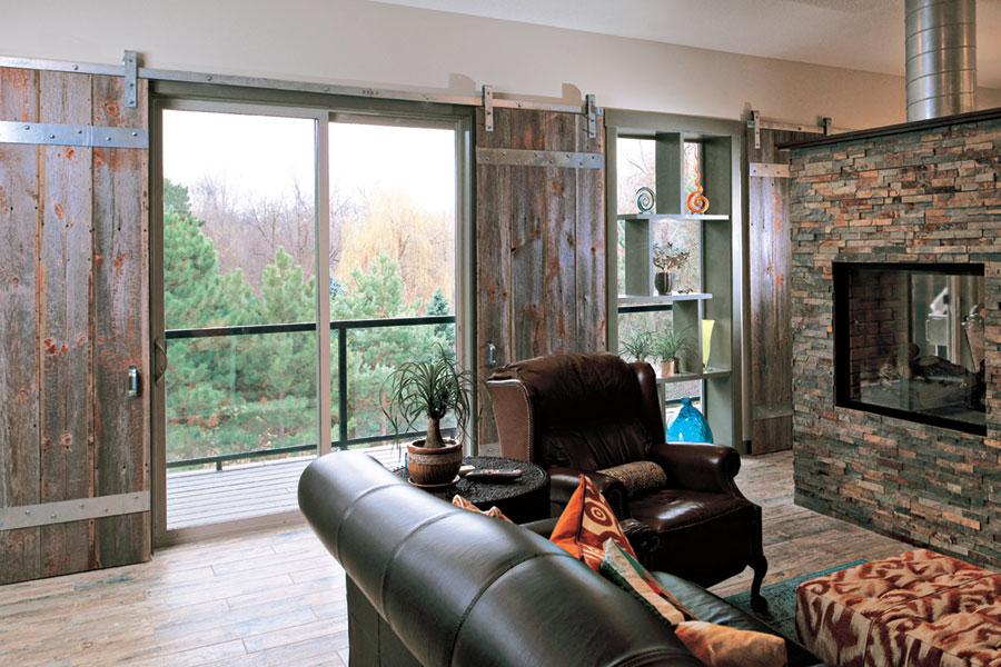 Interior design: Sliding windows to the balcony - home interiors