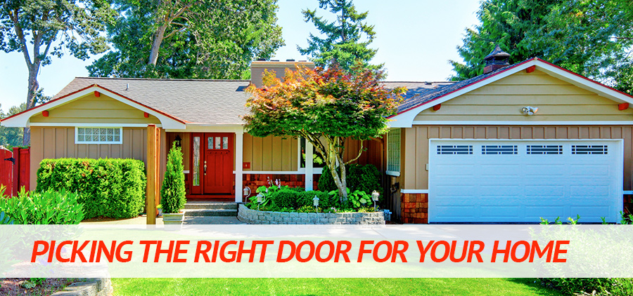 Picking the Right Door for your Home