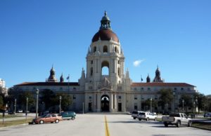 The City Hall of Pasadena, CA.