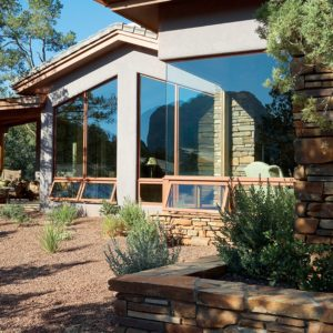 Andersen E-Series windows on large beautiful home.